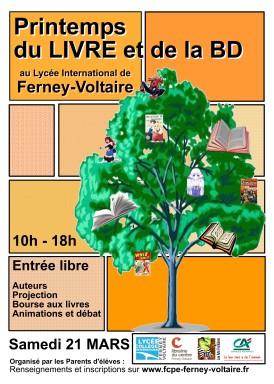 15-03-08 Affiche fête du livre lycée