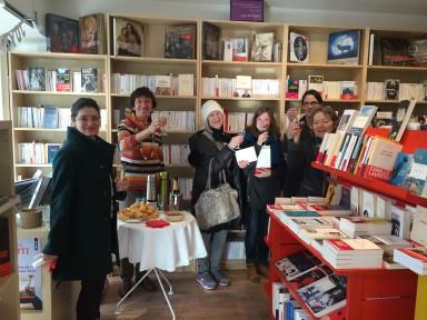 1er anniversaire de la librairie, 27 janvier 2016