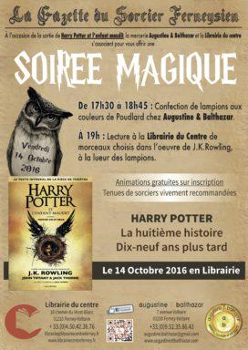 Harry Potter, soirée magique